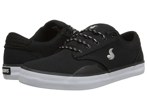"DVS Shoe Company - Daewon 14 (Black ""20 Year"" Canvas) Men's Skate Shoes"