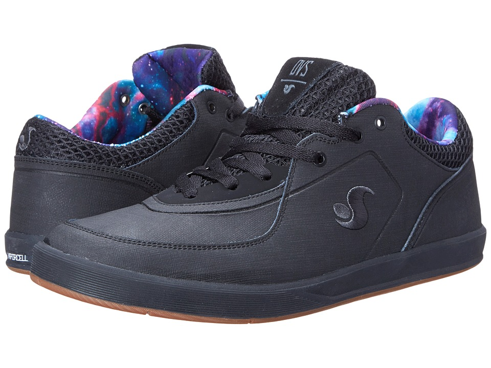 DVS Shoe Company - Endeavor (Black Galaxy) Men's Skate Shoes