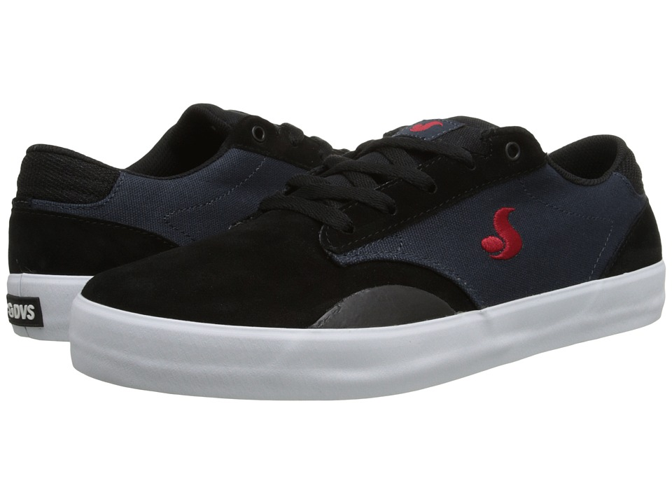 DVS Shoe Company - Daewon 14 (Navy/Black Suede) Men's Skate Shoes