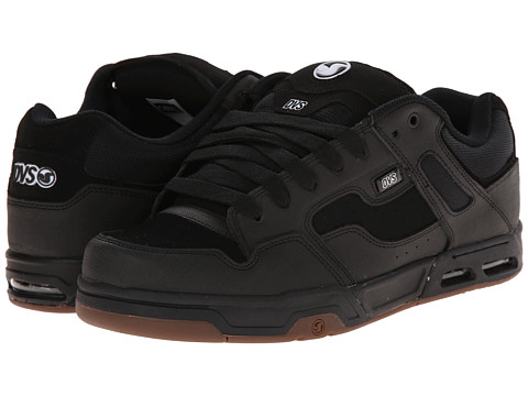 DVS Shoe Company - Enduro Heir (Black Gunny Nubuck) Men's Skate Shoes
