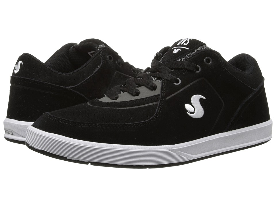 DVS Shoe Company - Endeavor (Black Suede) Men's Skate Shoes