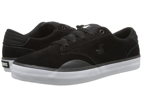 DVS Shoe Company - Daewon 14 (Black Suede) Men's Skate Shoes