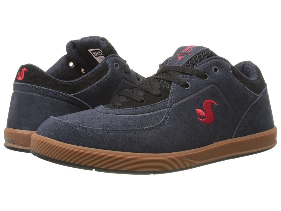 DVS Shoe Company Endeavor (Navy Gum Suede) Men