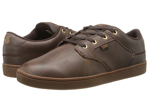DVS Shoe Company - Quentin (Brown Leather) Men