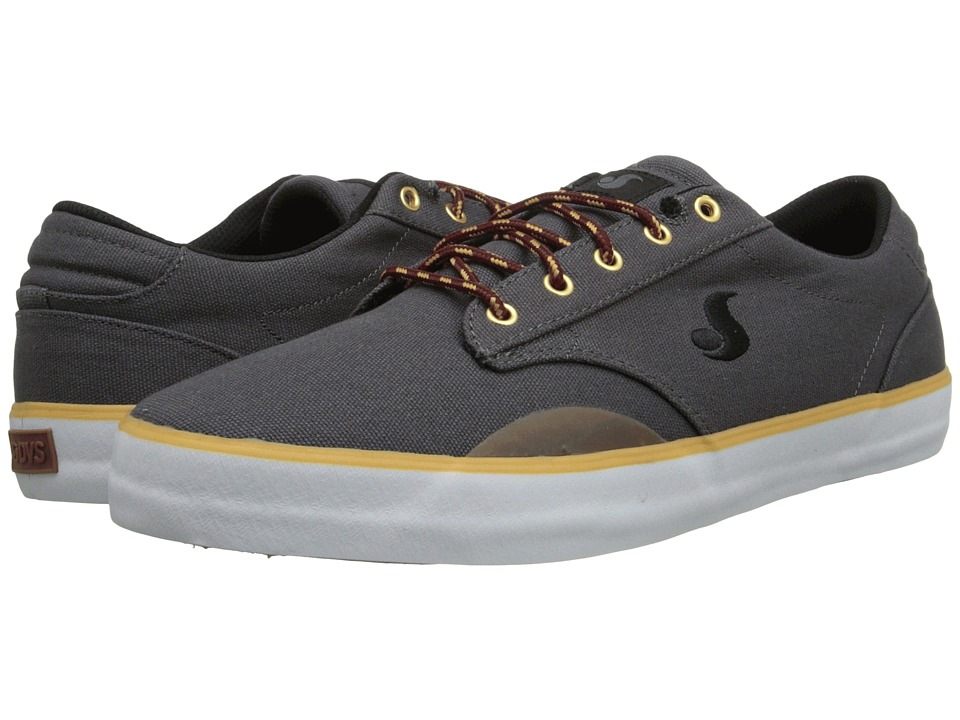 DVS Shoe Company - Daewon 14 (Grey Canvas) Men's Skate Shoes