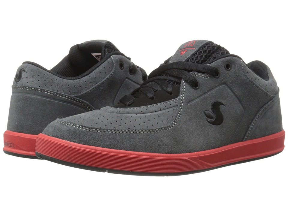 DVS Shoe Company - Endeavor (Grey/Black Suede) Men's Skate Shoes