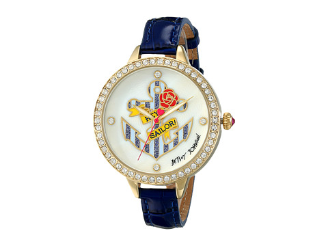 Betsey Johnson - BJ00419-02 (Blue/White) Watches