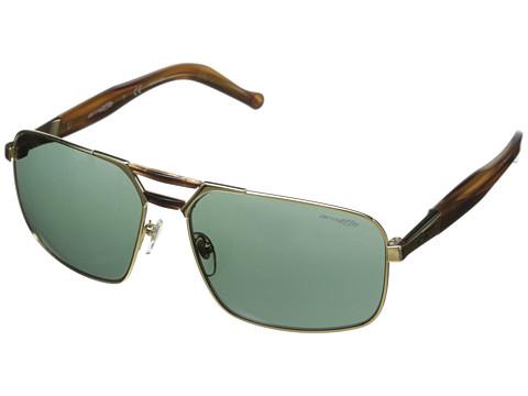Arnette - Smokey (Gold/Havana/Green) Fashion Sunglasses