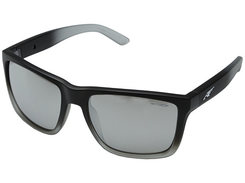 Arnette - Witch Doctor (Fuzzy Black Fade/Chrome Mirror) Sport Sunglasses