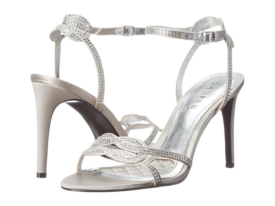 LAUREN Ralph Lauren - Stephanie (RL Silver Satin/Stones) High Heels