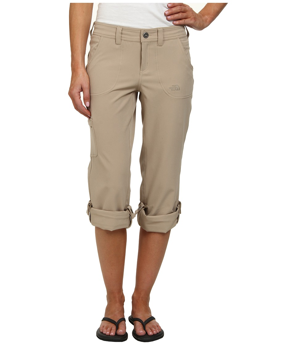 The North Face - Almatta Roll-Up Pant (Dune Beige) Women's Casual Pants