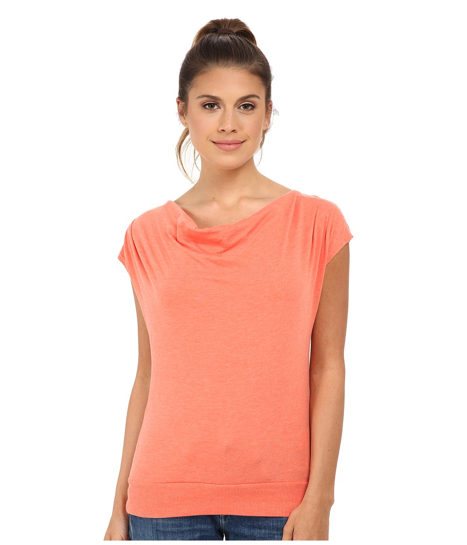 The North Face - Aurora Top (Emberglow Orange Heather) Women's T Shirt