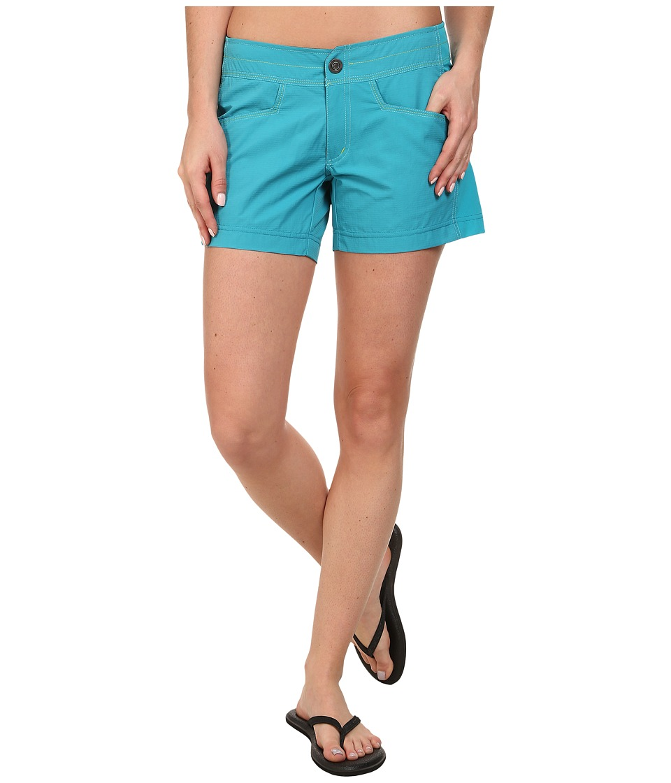 KUHL - Mutiny River Short (Teal) Women's Shorts
