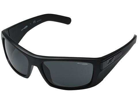 Arnette - Two Bit (Gloss Black Matte/Grey Polar) Fashion Sunglasses