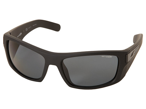 Arnette - Two Bit (Fuzzy Black/Grey Polar) Fashion Sunglasses