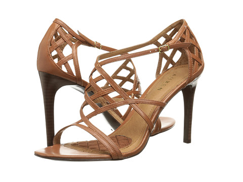 LAUREN by Ralph Lauren - Sydney (Polo Tan Kidskin) High Heels