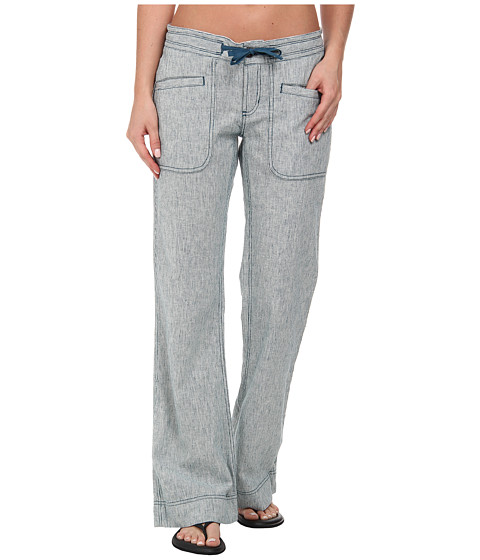 The North Face - Larison Linen Pant (Prussian Blue/Vintage White Stripe) Women's Casual Pants