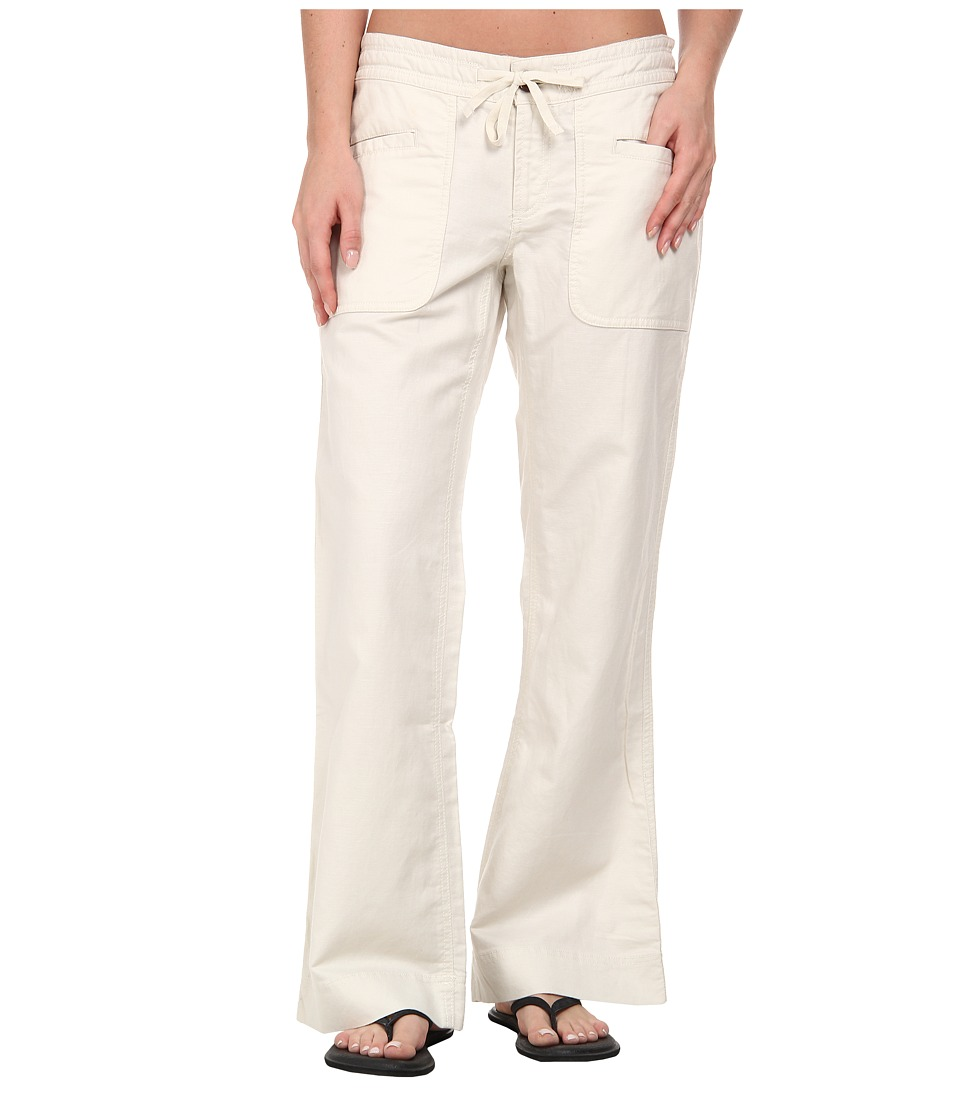 The North Face - Larison Linen Pant (Vintage White 2) Women's Casual Pants plus size,  plus size fashion plus size appare