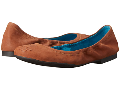 LAUREN by Ralph Lauren - Beatrice (Polo Tan Soft Fine Grain) Women's Flat Shoes