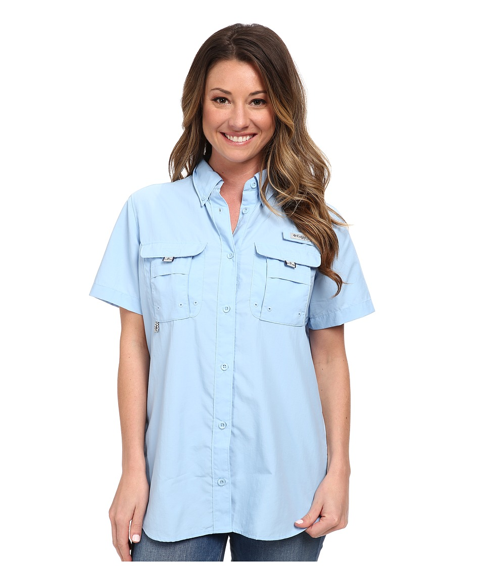 Columbia - Bahama S/S Shirt (Air) Women's Short Sleeve Button Up