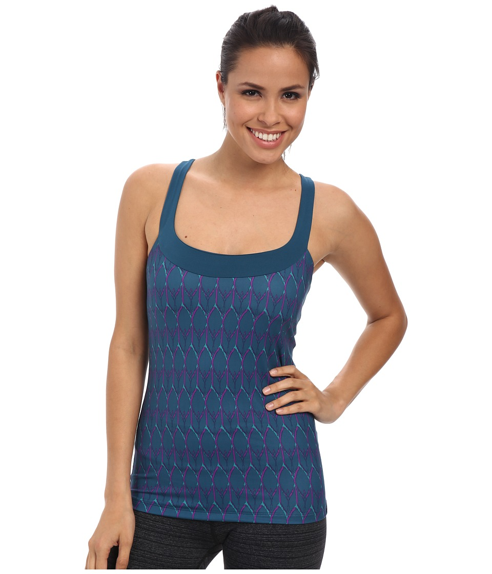 The North Face Cypress Knit Tank (Prussian Blue Print) Women