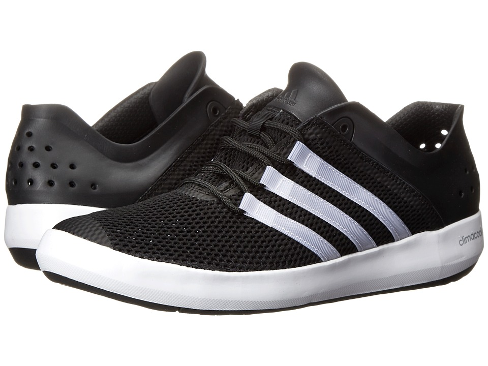 adidas Outdoor - CLIMACOOL Boat Pure (Black/Chalk White/Silver Metallic) Men's Shoes