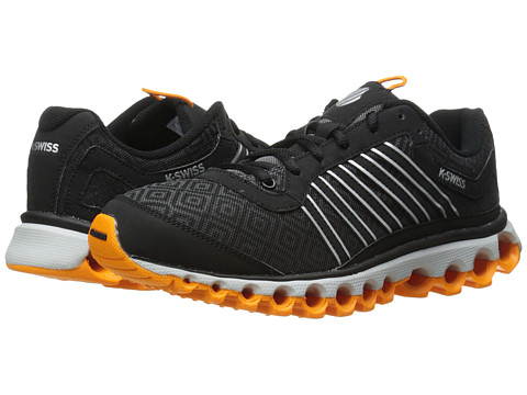 K-Swiss - Tubes 151 P (Black/Charcoal/Bright Marigold) Men