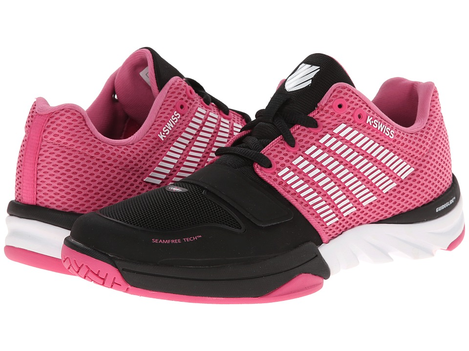 K-Swiss - X Court (Black/Shocking Pink/White) Women