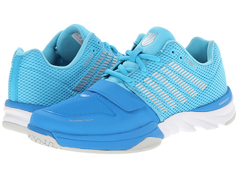 K-Swiss - X Court (Blue Aster/Bachelor Button) Women's Cross Training Shoes