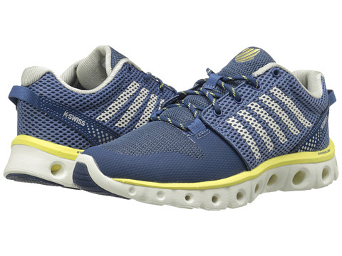 K-Swiss - X Lite (Moonlight Blue/Bright White/Limelight) Women's Cross Training Shoes