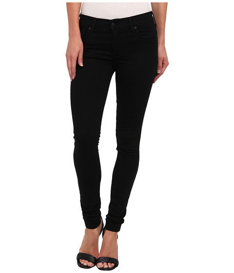 True Religion - Halle Mid-Rise Super Skinny in Rebel Voices (Rebel Voices) Women