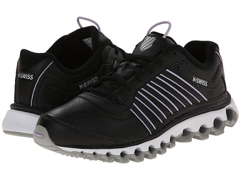 K-Swiss - Tubes 151 L (Black/Storm/Pastel Lilac) Women's Cross Training Shoes