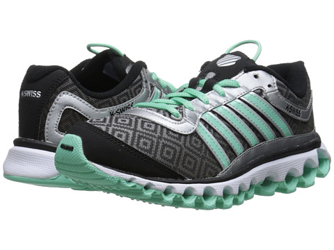 K-Swiss - Tubes 151 P (Silver/Black/Cabbage) Women