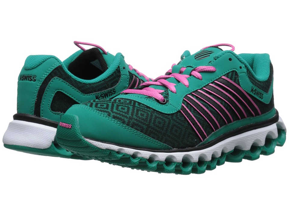K-Swiss - Tubes 151 P (Dynasty Green/Shocking Pink) Women