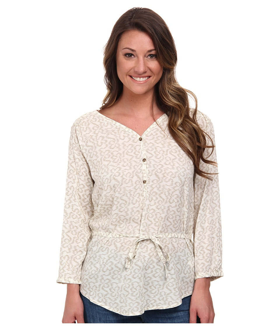 The North Face - 3/4 Sleeve Grace Bay Shirt (Vintage White) Women's Blouse plus size,  plus size fashion plus size appare
