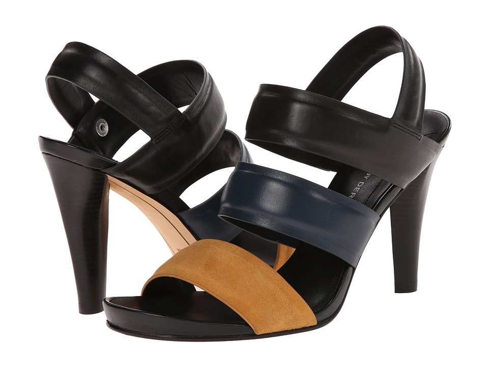 10 Crosby Derek Lam - Fennel (Tumeric Kid Suede/Midnight/Black Eco Leather) Women