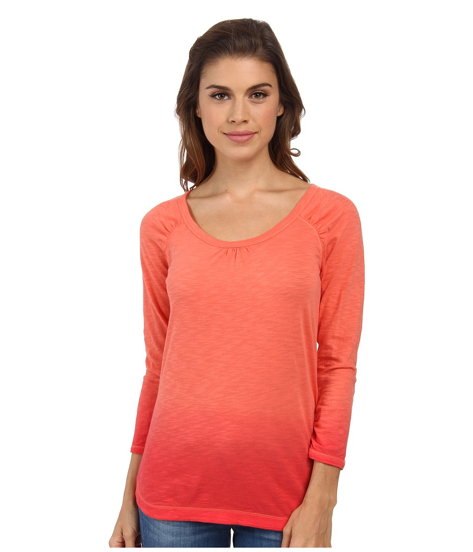 The North Face - Sabrina Top (Emberglow Orange) Women's T Shirt