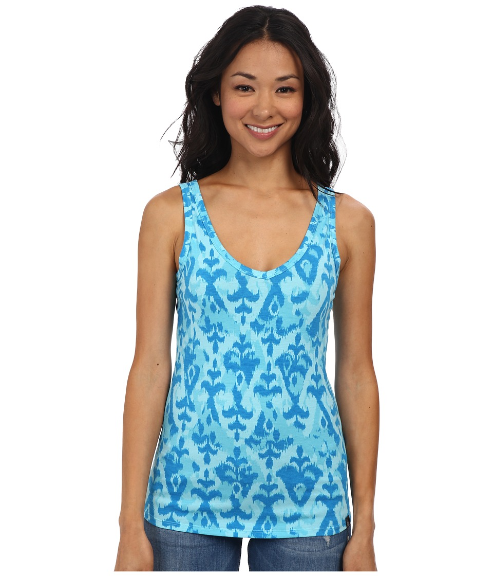 The North Face - Willow Park Tank (Fortuna Blue Print) Women's Sleeveless