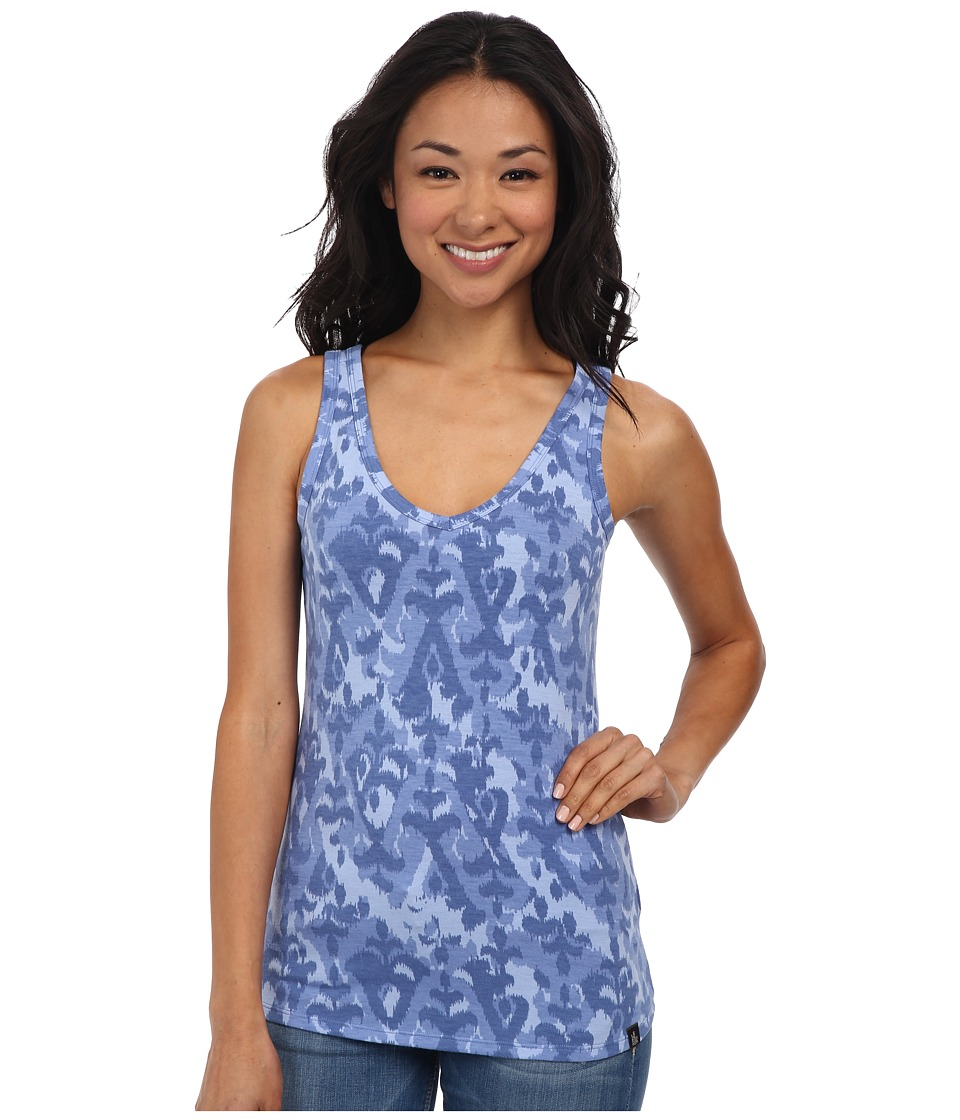 The North Face - Willow Park Tank (Vintage Blue Print) Women's Sleeveless
