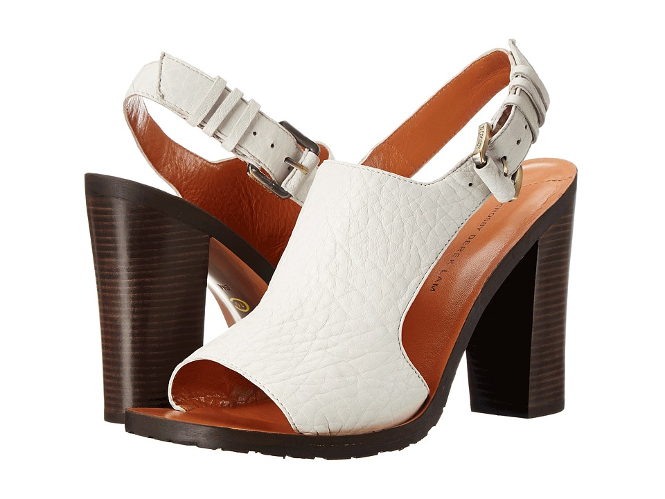 10 Crosby Derek Lam Jemina (Soft White Washed Lamb) Women