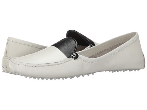 10 Crosby Derek Lam - Malin (Soft White Semi Shine Soft Calf/Black) Women's Shoes
