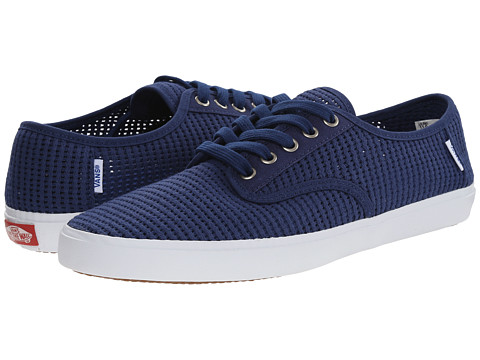 Vans - Aldrich ((Canvas Mesh) Estate Blue) Men's Skate Shoes