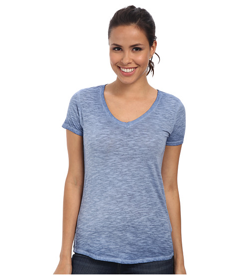 The North Face - Short Sleeve Remora Tee (Vintage Blue) Women