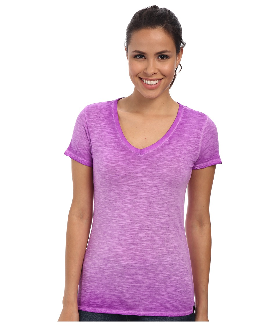 The North Face - Short Sleeve Remora Tee (Magic Magenta) Women