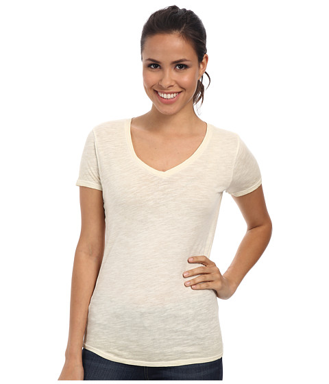 The North Face - Short Sleeve Remora Tee (Vintage White) Women
