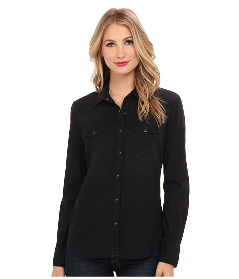 True Religion - Georgia Western Shirt (Dark Spirit Bird) Women