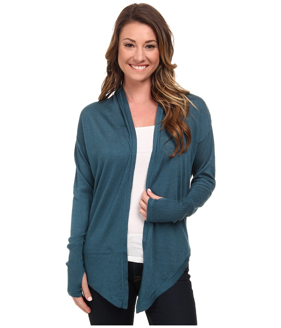 The North Face - Bridgette Wrap (Prussian Blue) Women's Jacket