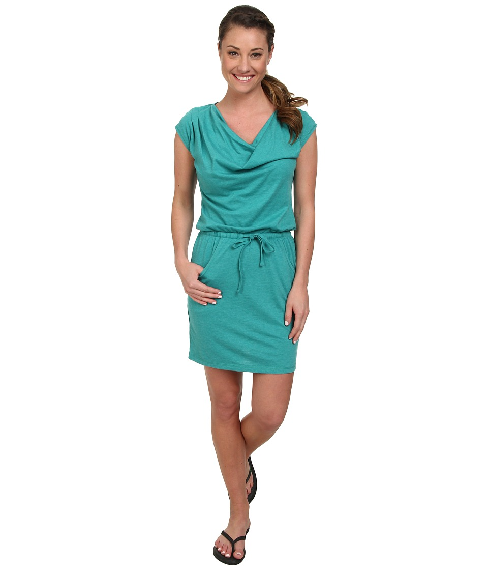 The North Face - Aurora Dress (Teal Blue Heather) Women