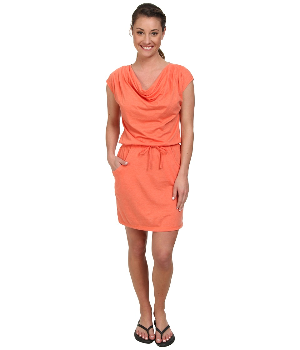The North Face - Aurora Dress (Emberglow Orange Heather) Women's Dress
