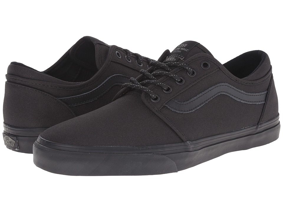 Vans - Trig (Black/Black) Men's Shoes